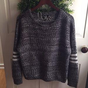 Jessica Simpson oversized preppy sweater M
